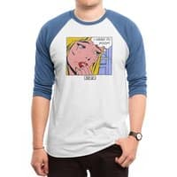 Poop Art - triblend-34-sleeve-raglan-tee - small view