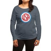 USA - womens-long-sleeve-terry-scoop - small view