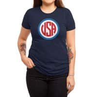 USA - womens-triblend-tee - small view