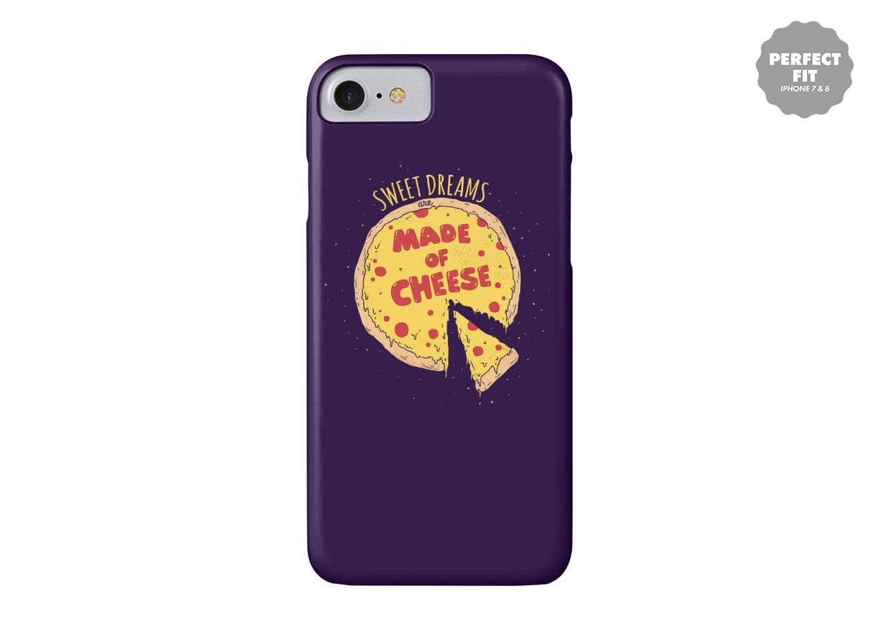 sweet dreams are made of cheese perfect fit phone case small
