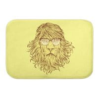 Lions Are Smarter Than I Am - bath-mat - small view
