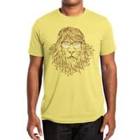 Lions Are Smarter Than I Am - mens-extra-soft-tee - small view