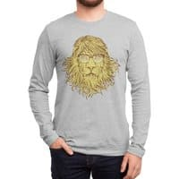 Lions Are Smarter Than I Am - mens-long-sleeve-tee - small view