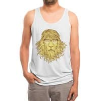 Lions Are Smarter Than I Am - mens-triblend-tank - small view