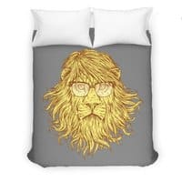 Lions Are Smarter Than I Am - duvet-cover - small view