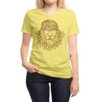 Lions Are Smarter Than I Am - womens-regular-tee - small view