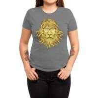 Lions Are Smarter Than I Am - womens-triblend-tee - small view