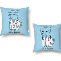 Dogtor - throw-pillow - small view