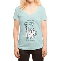 Dogtor - womens-deep-v-neck - small view