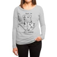 Dogtor - womens-long-sleeve-terry-scoop - small view