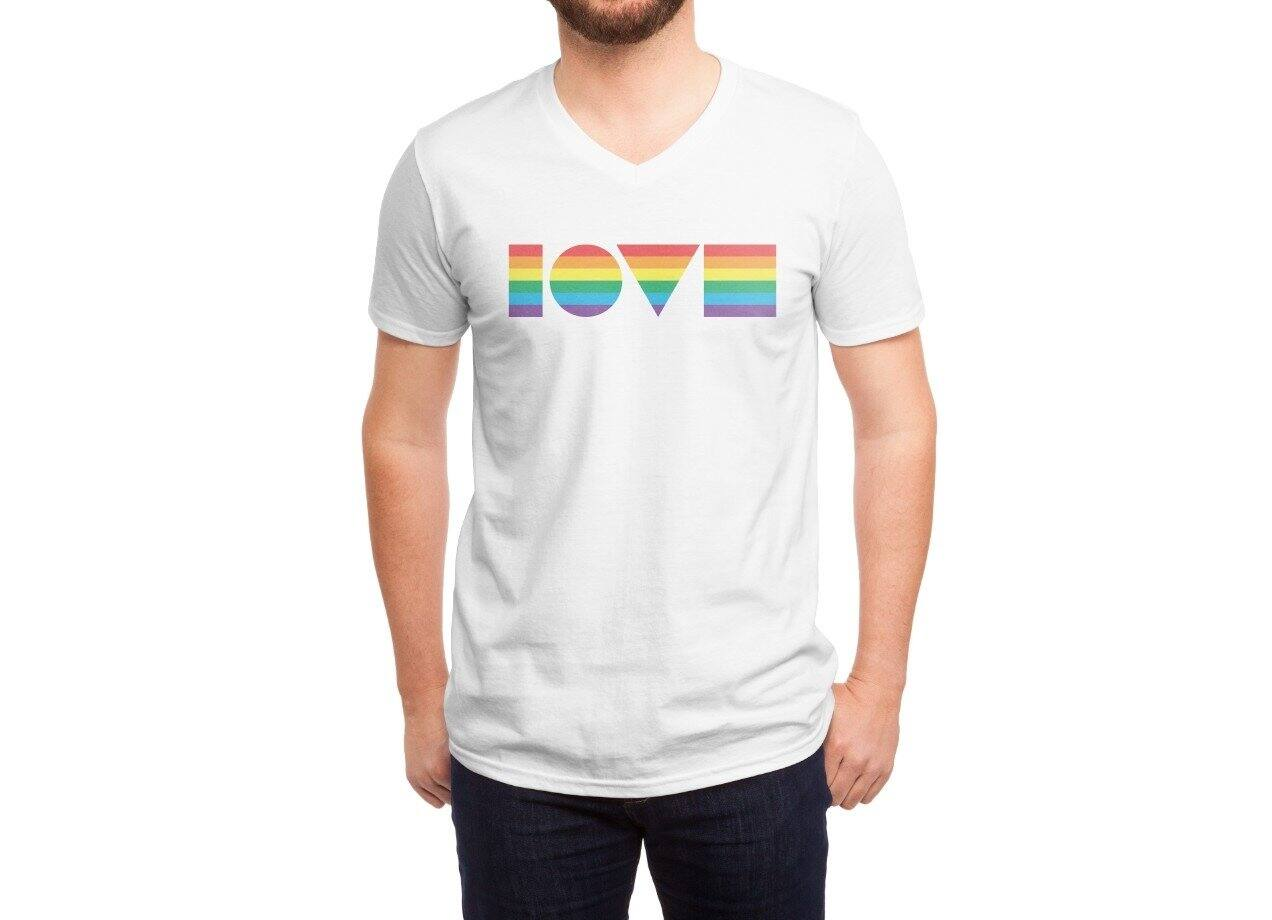 Geometric Pride By Jeff Speiser Mens Triblend Tee Threadless