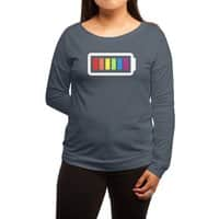 GLBT Power - womens-long-sleeve-terry-scoop - small view