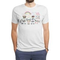 Two Dads - mens-triblend-tee - small view
