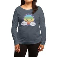The Sun'll Come Out, Tomorrow - womens-long-sleeve-terry-scoop - small view