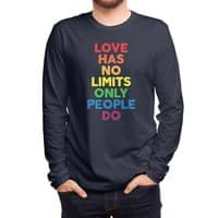 No Limits - mens-long-sleeve-tee - small view