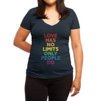 No Limits - womens-deep-v-neck - small view