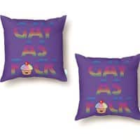 Gay as F*ck - throw-pillow - small view