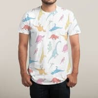 Dino - mens-sublimated-triblend-tee - small view