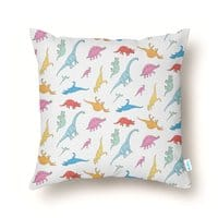 Dino - throw-pillow - small view