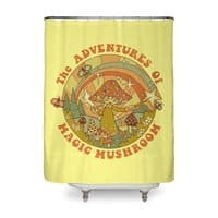 Magic Mushroom - shower-curtain - small view