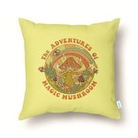 Magic Mushroom - throw-pillow - small view