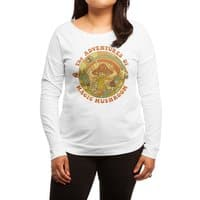 Magic Mushroom - womens-long-sleeve-terry-scoop - small view