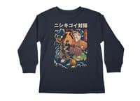 The Cat and the Koi - longsleeve - small view
