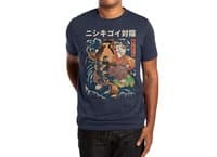 The Cat and the Koi - mens-extra-soft-tee - small view