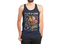 The Cat and the Koi - mens-jersey-tank - small view