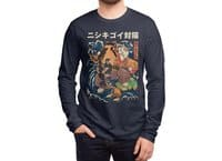 The Cat and the Koi - mens-long-sleeve-tee - small view