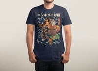The Cat and the Koi - mens-triblend-tee - small view