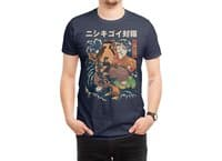 The Cat and the Koi - mens-regular-tee - small view