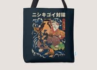 The Cat and the Koi - tote-bag - small view