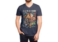 The Cat and the Koi - vneck - small view