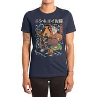 The Cat and the Koi - womens-extra-soft-tee - small view