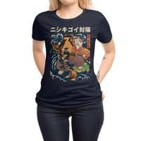 The Cat and the Koi - womens-regular-tee - small view