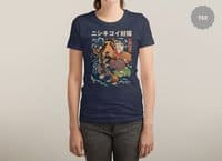 The Cat and the Koi - womens-triblend-tee - small view