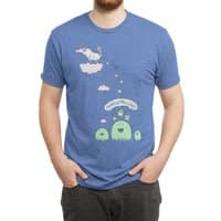 Marshmallow Factory - mens-triblend-tee - small view