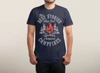Campfire Stories - mens-triblend-tee - small view
