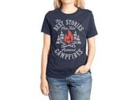 Campfire Stories - womens-extra-soft-tee - small view