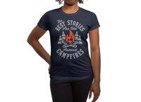 Campfire Stories - womens-regular-tee - small view
