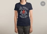 Campfire Stories - womens-triblend-tee - small view