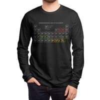 Onomatopoeriodic Table - mens-long-sleeve-tee - small view