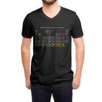 Onomatopoeriodic Table - vneck - small view