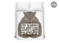I'm Sorry For What I Said When I Was Hungry - duvet-cover - small view