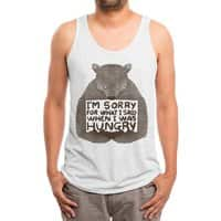 I'm Sorry For What I Said When I Was Hungry - mens-triblend-tank - small view