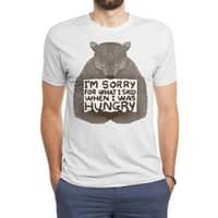 I'm Sorry For What I Said When I Was Hungry - mens-triblend-tee - small view