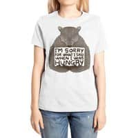 I'm Sorry For What I Said When I Was Hungry - womens-extra-soft-tee - small view