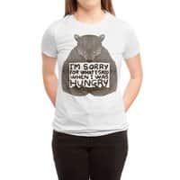 I'm Sorry For What I Said When I Was Hungry - womens-triblend-tee - small view