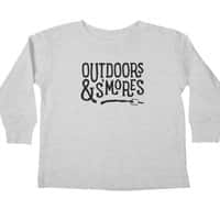 Outdoors & S'mores - longsleeve - small view